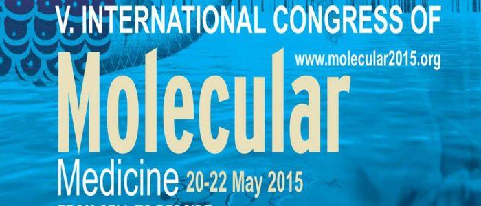 5.uluslararası Moleküler Tıp kongresi düzenlendi.